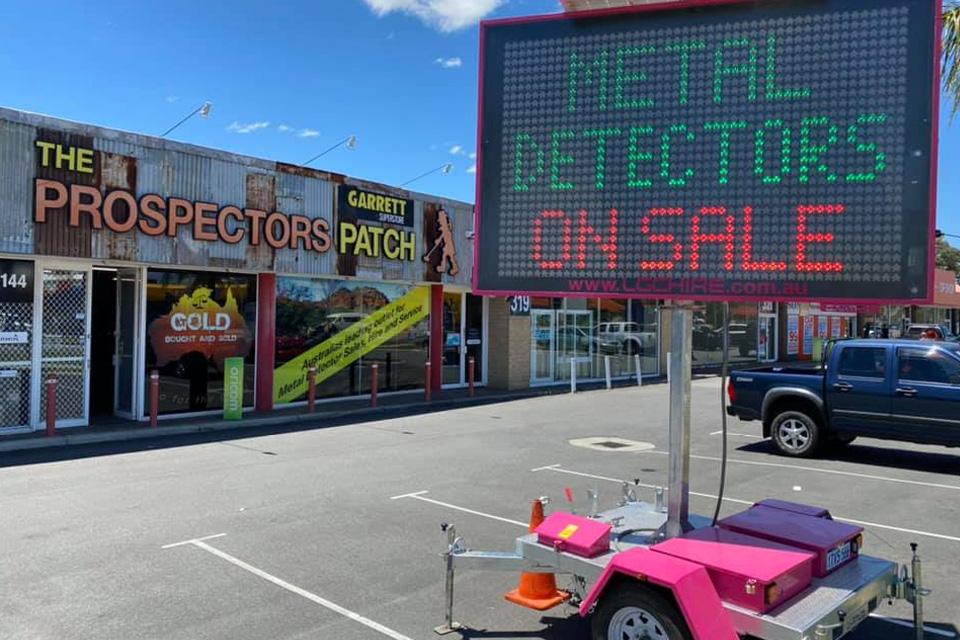 best gold detector for western australia