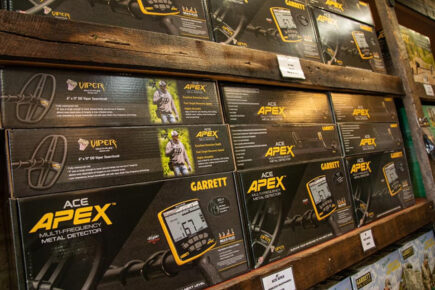 gold metal detectors